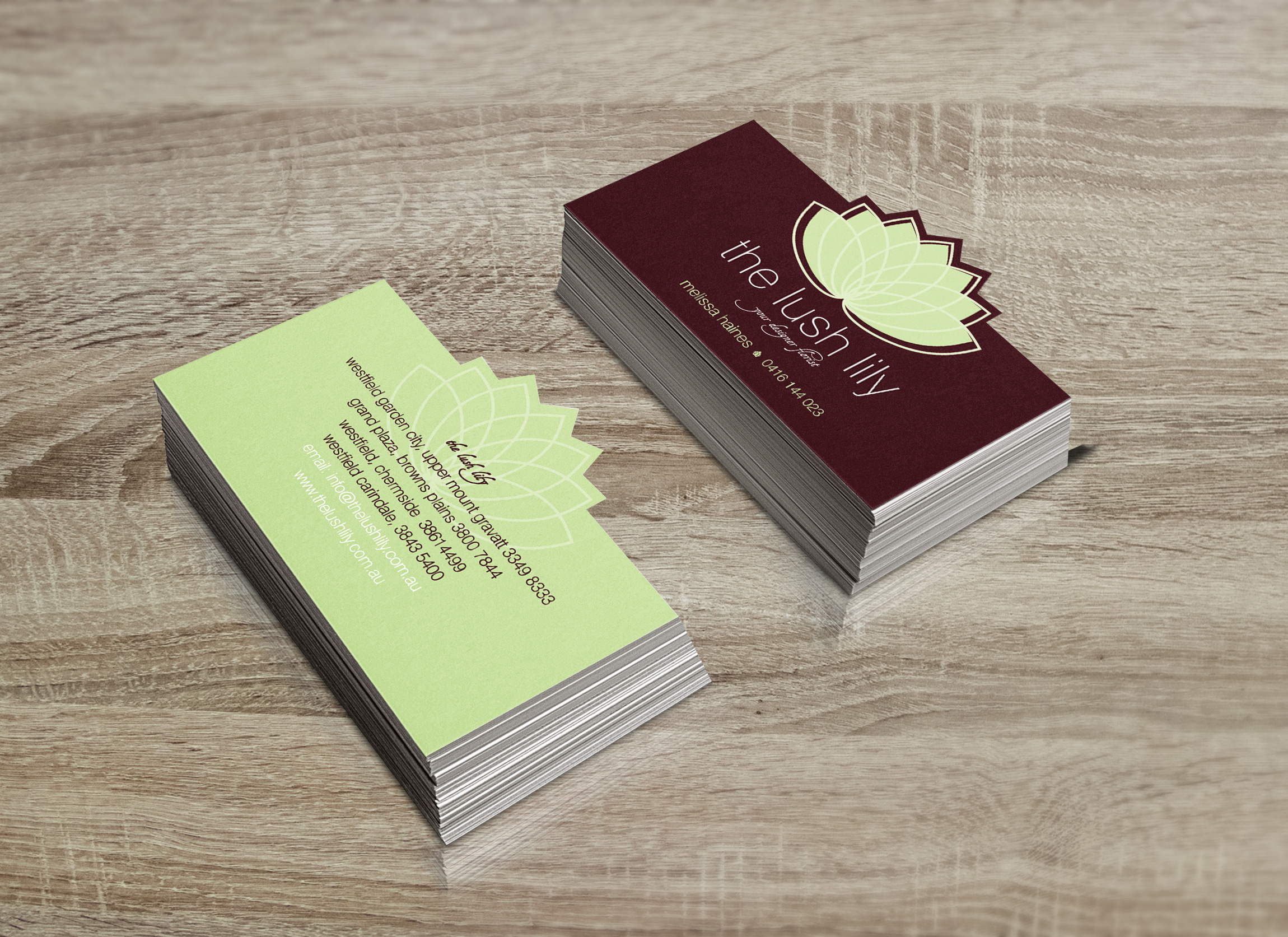 IBS Cards - A Die Cut Business Card That Stands Out
